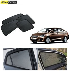 Buy Maruti Ciaz Magnetic Car Window Sunshades at low prices-RideoFrenzy