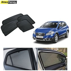 Buy Maruti S-CROSS Magnetic Car Window Sunshade at low prices-RideoFrenzy