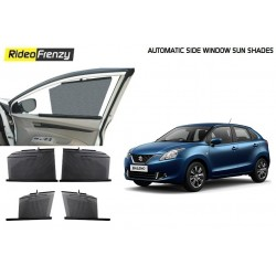 Buy Maruti Baleno Automatic Side Window Curtains | UV Protected | Custom Fit online India