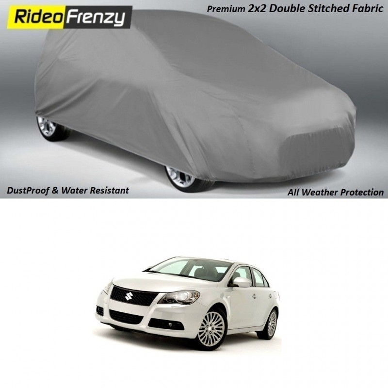 Buy Heavy Duty Double Stiching Maruti Kizashi Body Cover at low prices-RideoFrenzy