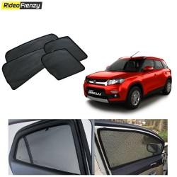 Buy Maruti Vitara Brezza Magnetic Car Window Sunshade at low prices-RideoFrenzy