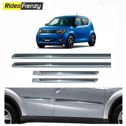 Maruti Ignis Silver Chromed Side beading