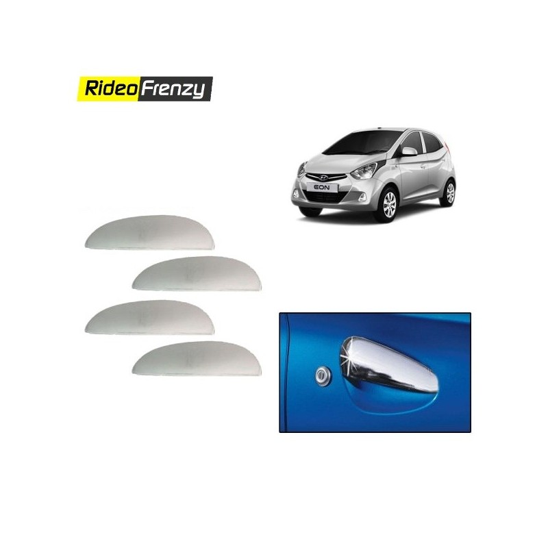 Buy Hyundai Eon Chrome Chrome Handle Covers online at low prices-RideoFrenzy