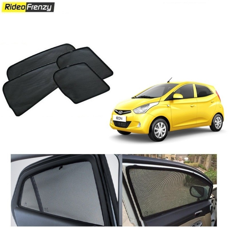 Buy Hyundai Eon Magnetic Car Window Sunshade at low prices-Rideofrernzy