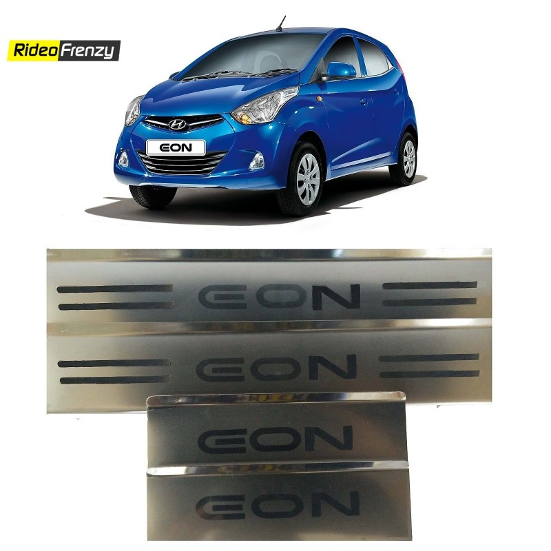 Buy Hyundai Eon Stainless Steel Door Scuff Sill Plates online at low prices-RideoFrenzy