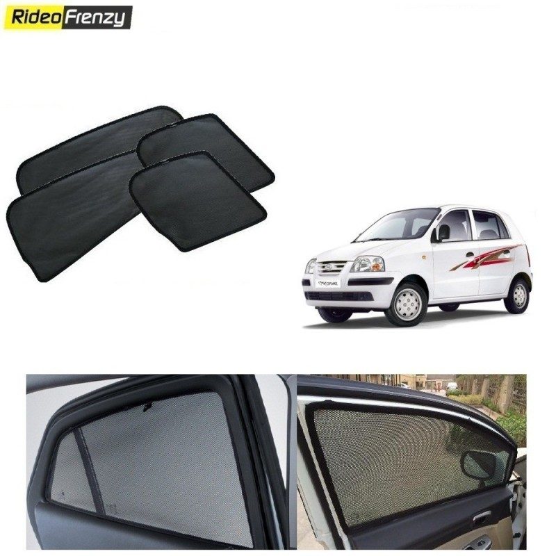 Buy Hyundai Santro Magnetic Window Sunshades at low prices-RideoFrenzy