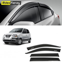 Buy Unbreakable Hyundai Santro Xing Door Visors in ABS Plastic at low prices-RideoFrenzy