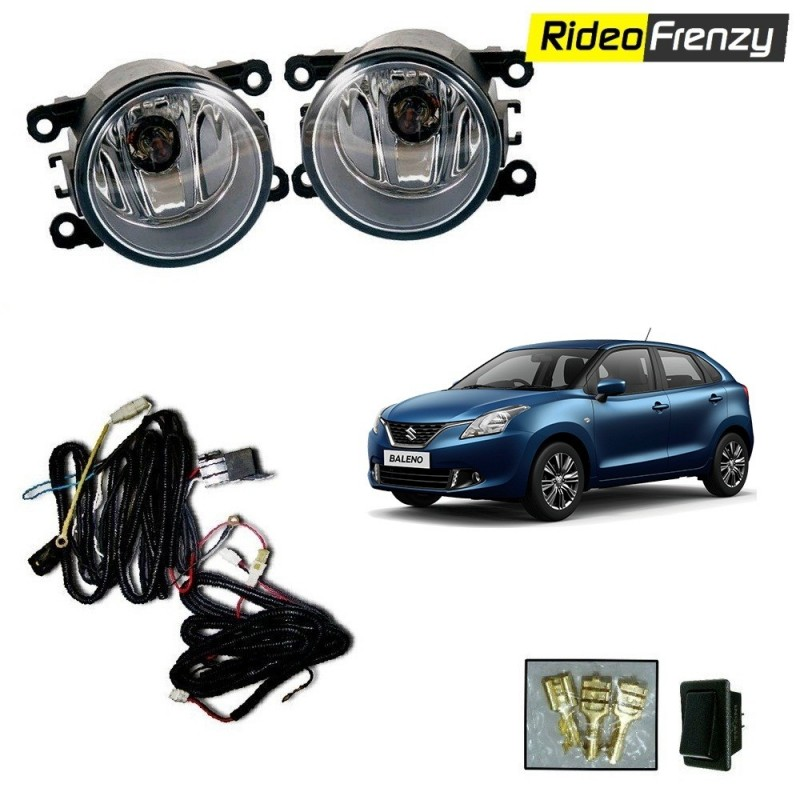 buy new maruti baleno fog lamp kit with wiring at low. Black Bedroom Furniture Sets. Home Design Ideas