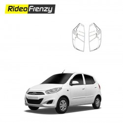 Buy Chrome Tail Light Covers for Hyundai I10 at low prices-RideoFrenzy