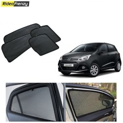 Buy Hyundai Grand i10 Magnetic Car Window Sunshades at low prices-RideoFrenzy