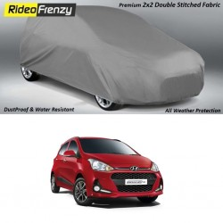 Buy Heavy Duty Double Stitched Hyundai Grand i10 Body Cover at low prices-RideoFrenzy