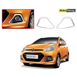 Hyundai Grand i10 & Xcent Chrome Fog Covers