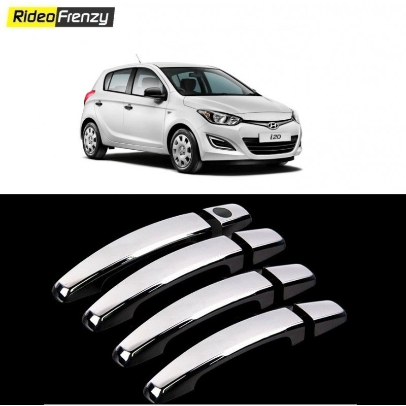 Buy Hyundai i20 Door Chrome Handle Covers at low prices-RideoFrenzy