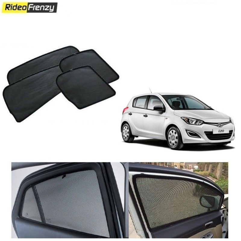 Buy Hyundai i20 Magnetic Car Window Sunshades at low prices-RideoFrenzy