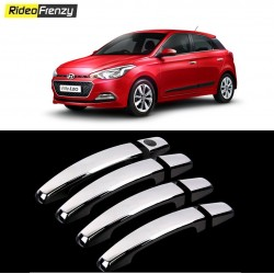 Buy Hyundai Elite i20 Door Chrome Handle Covers at low prices-RideoFrenzy