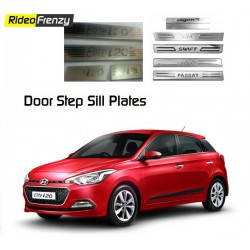 Buy Hyundai Elite i20 Stainless Steel Door Scuff Sill Plate at low prices-RideoFrenzy