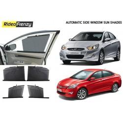 Hyundai Verna Automatic Side Window Sun Shades