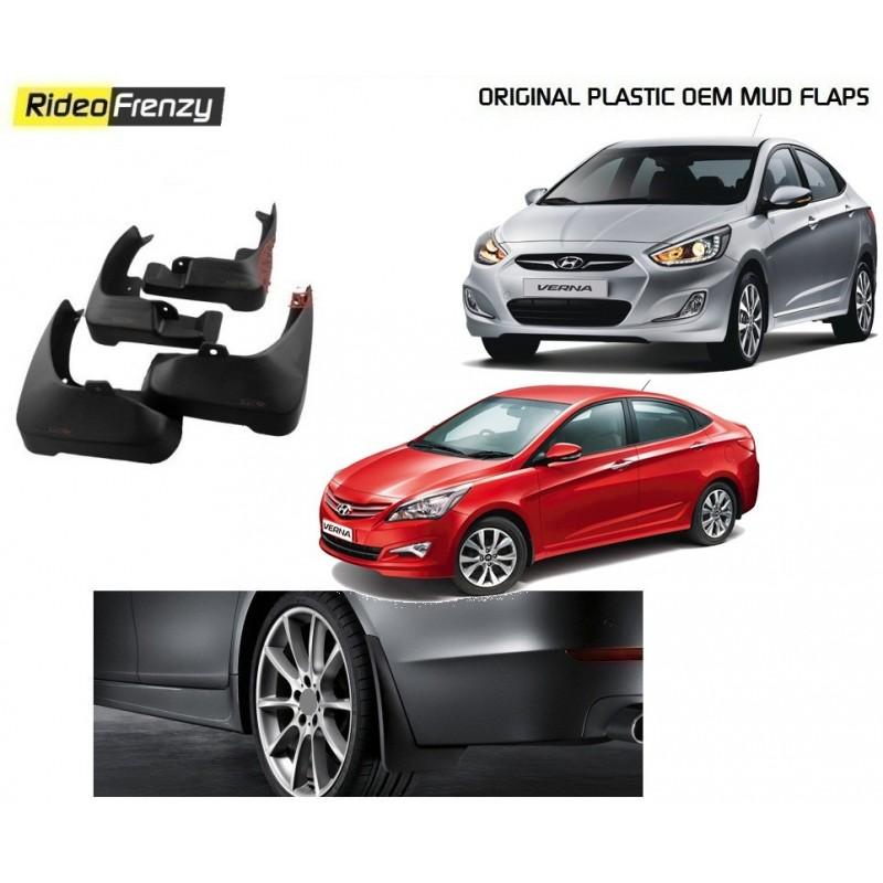 Buy Original OEM Hyundai Verna Mud Flaps at low prices-RideoFrenzy