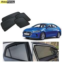 Buy Hyundai Elantra Magnetic Car Window Sunshades at low prices-RideoFrenzy