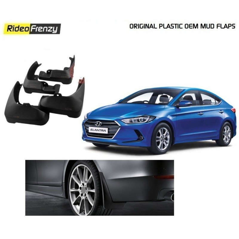 Buy Hyundai Elantra Original OEM Mud Flaps at low prices-RideoFrenzy