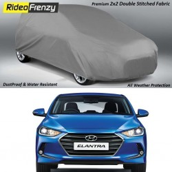 Buy Heavy Duty Double Stiching Hyundai Elantra Body Cover at low prices-RideoFrenzy