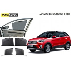 Buy Hyundai Creta Automatic Side Window Sun Shades at low prices-RideoFrenzy