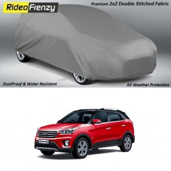 Buy Heavy Duty Double Stiching Hyundai Creta Body Covers at low prices-RideoFrenzy