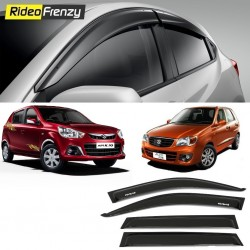 Buy Unbreakable Maruti Alto K10 Door Visors in ABS Plastic at low prices