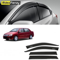 Buy Unbreakable Tata Indigo Door Visors in ABS Plastic at low prices-RideoFrenzy