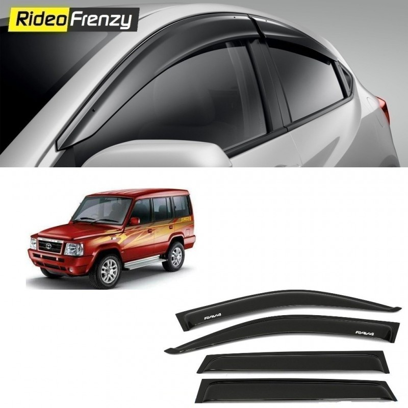 Buy Unbreakable Tata Sumo Door Visors in ABS Plastic at low prices-RideoFrenzy