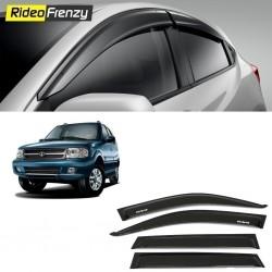 Buy Unbreakable Tata Safari Dicor Door Visors in ABS Plastic at low prices-RideoFrenzy