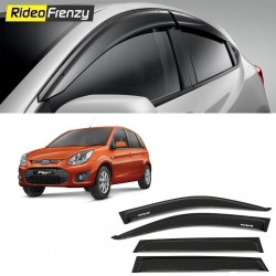 Buy Unbreakable Ford Figo Door Visors in ABS Plastic at low prices-RideoFrenzy