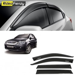 Buy Unbreakable Ford Fiesta Door Visors in ABS Plastic at low prices-RideoFrenzy