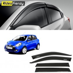 Buy Unbreakable Renault Pulse Door Visors in ABS Plastic at low prices-RideoFrenzy