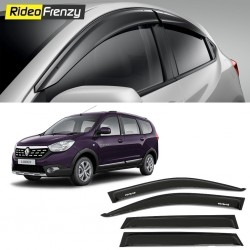 Buy Unbreakable Renault Lodgy Door Visors in ABS Plastic at low prices-RideoFrenzy