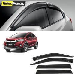 Buy Unbreakable Honda WRV Door Visors in ABS Plastic at low prices-RideoFrenzy