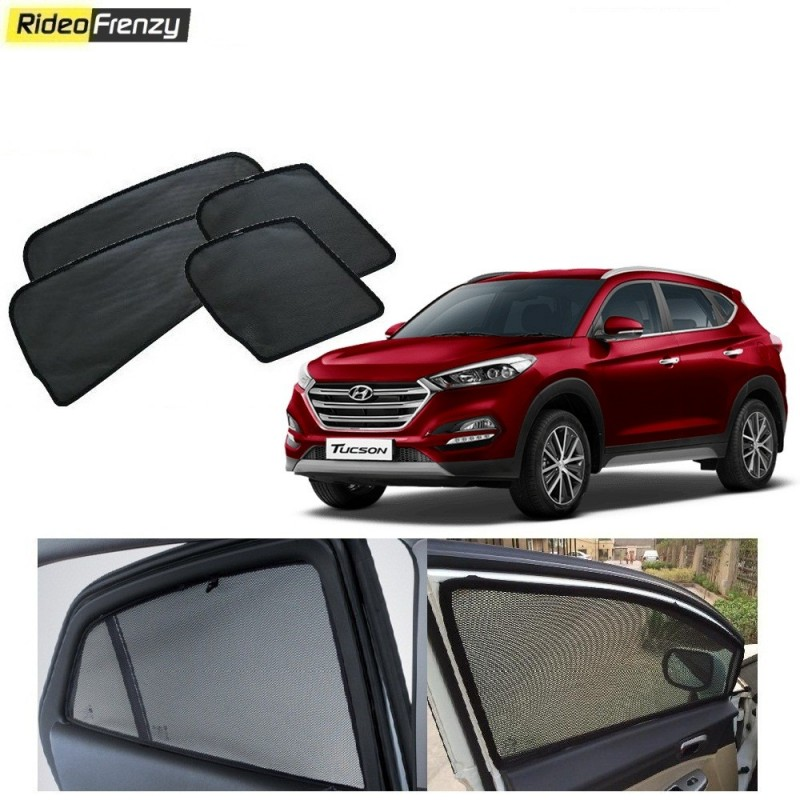 buy hyundai tucson magnetic car window sunshade at low prices rideofrenzy. Black Bedroom Furniture Sets. Home Design Ideas