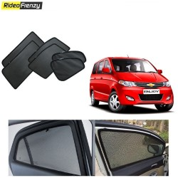 Buy Chevrolet Enjoy Magnetic Car Window Sunshades online | Rideofrenzy