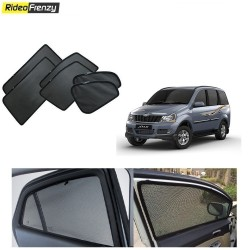 Buy Magnetic Car Window Sunshade for Mahindra Xylo online at low prices-Rideofrenzy