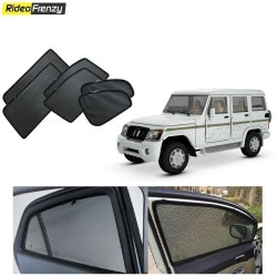 Buy Mahindra Bolero Magnetic Car Window Sunshades online at low prices-Rideofrenzy