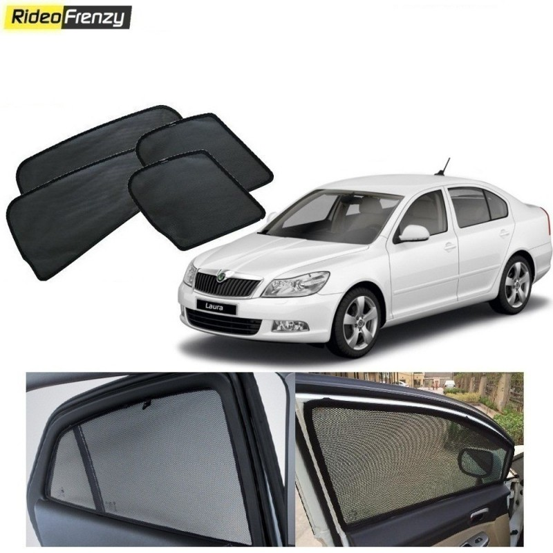 Buy Skoda Laura Magnetic Window Sunshade online at low prices-Rideofrenzy