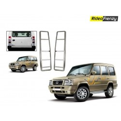 Buy Tata Sumo Gold Chrome Tail Light Covers at low prices-RideoFrenzy