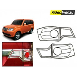 Buy Tata Sumo Grande Chrome Tail Light Covers at low prices-RideoFrenzy