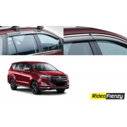 Buy Unbreakable Innova Crysta Door Visors in ABS Plastic at low prices-RideoFrenzy