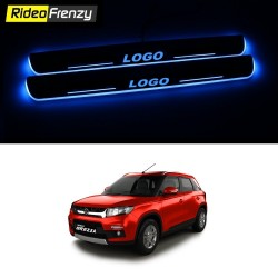 Buy Vitara Brezza 3D Power LED Illuminated Scuff Plates online | Best Selling