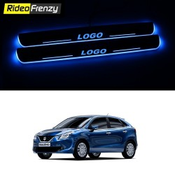 Maruti Baleno 3D Power LED Illuminated Sill/Scuff Plates