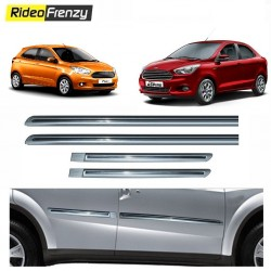 Buy Silver Chromed Side Beading for Figo Aspire/New Figo at low prices-RideoFrenzy