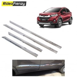 Buy Honda WRV Stainless Steel Chrome Side Beading at low prices-RideoFrenzy