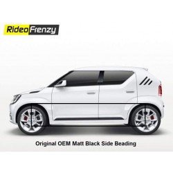 Buy Original OEM Maruti Ignis Matt Black Side Beading at low prices-RideoFrenzy
