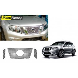 Buy Premium Glossy Nissan Terrano Front Chrome Grill at low prices-RideoFrenzy